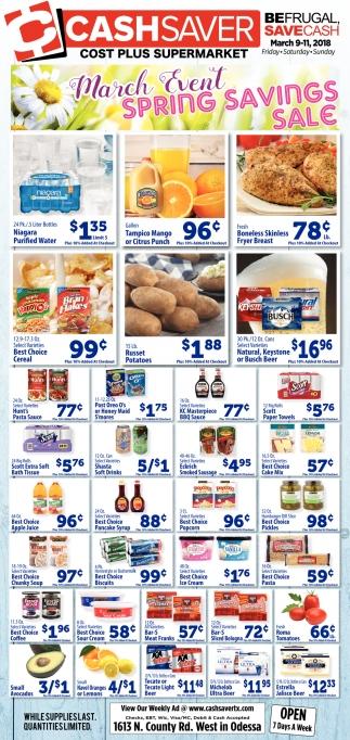 Cost Plus Supermarket