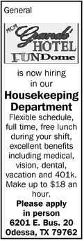 Housekeeping Department