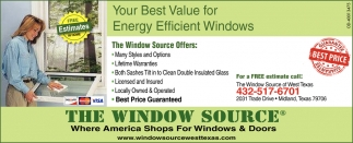 energy efficient windows prices your best value for energy efficient windows the window source midland tx source