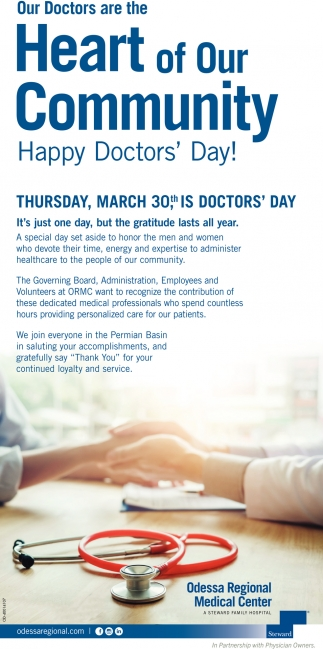 Happy Doctors' Day!