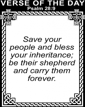 Psalm 28:9