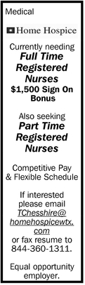 Full Time Registered Nurses