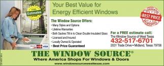 best energy efficient windows doors your best value for energy efficient windows the window source midland tx source