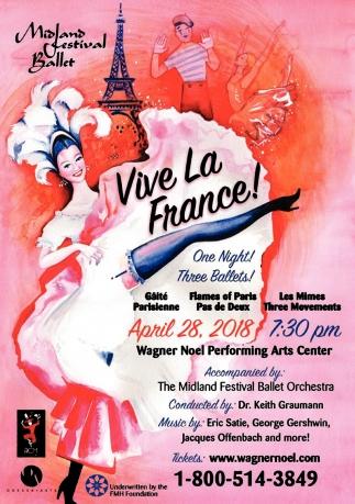 ballet noel 2018 paris Vive La France!, Wagner Noel, Midland, TX ballet noel 2018 paris