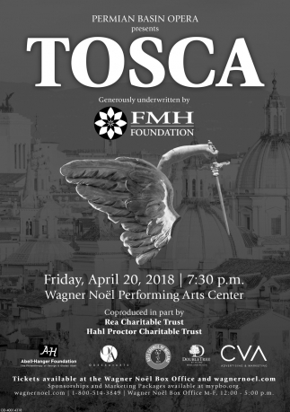 TOSCA Generously Underwritten By FMH Foundation