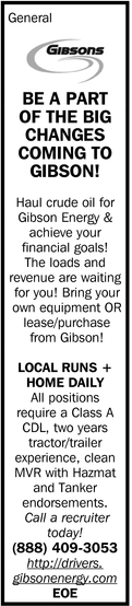 Be A Part Of The Big Changes Coming To Gibson!