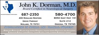 Board Certified In Neurological Surgery