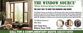 Where America Shops For Windows And Doors The Window Source Midland TX & Where America Shops For Windows And Doors The Window Source ...