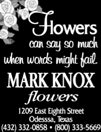 Flowers Can Say So Much When Words Might Fail