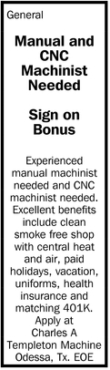 Manual And CNC Machinist Needed