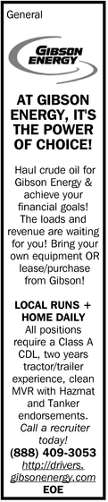 At Gibson Energy, It's The Power Of Choice!