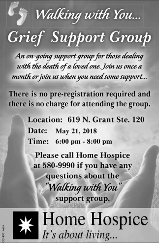 Walking With You... Grief Support Group