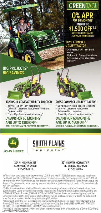 Big Projects? Big Savings.