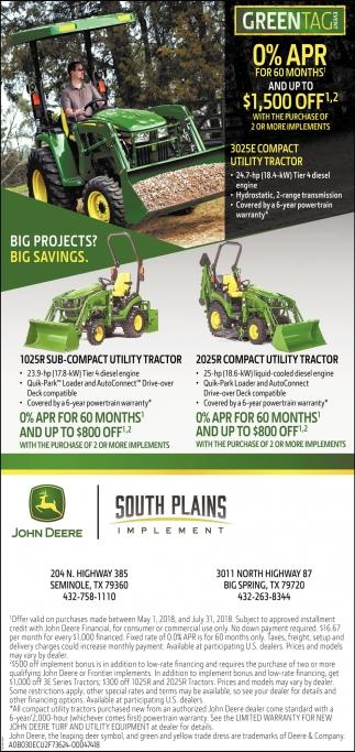 Big Projects? Big Savings.