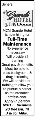 Full-Time Maintenance