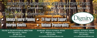 Funerals, Cremation, Pre Arrangement Services