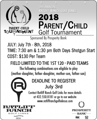 2018 Parent/Child Golf Tournament
