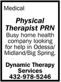 Physical Therapist PRN