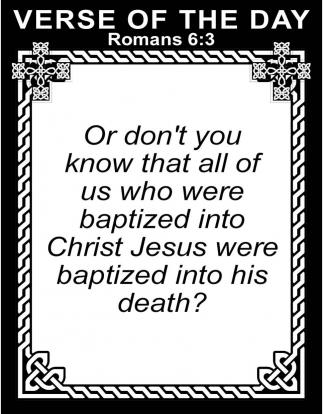 Romans 6:3