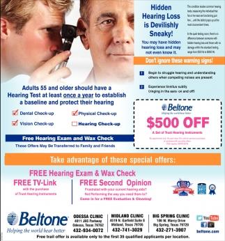 Hidden Hearing Loss Is Devilishly Sneaky!