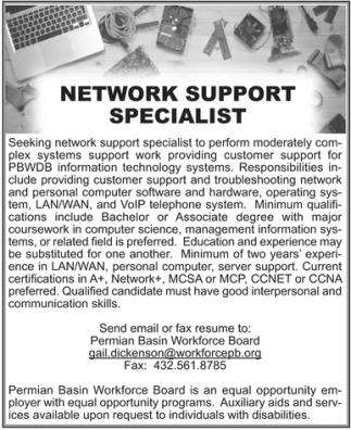 Network Support Specialist