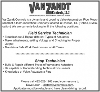 Field Service Technician