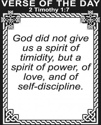 2 Tomothy 1:7