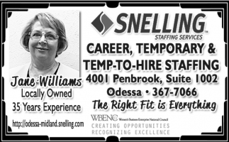 Career, Temporary And Temp-To-Hire Staffing