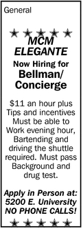 Bellman/Concierge