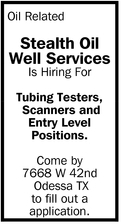 Is Hiring For Tubing Testers, Scanners And Entry Level Positions