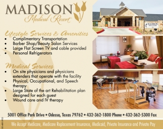 Lifestyle Services And Amenities