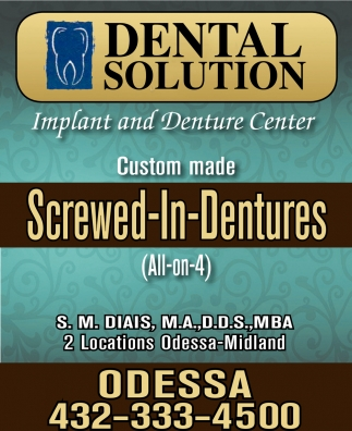 Screwed-In-Dentures