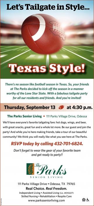 Texas Style!