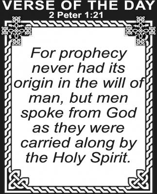2 Peter 1:21
