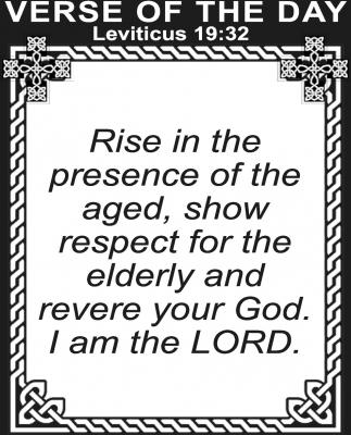 Leviticus 19:32