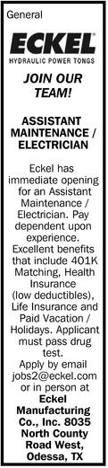 Assistance Maintenance/Electrician