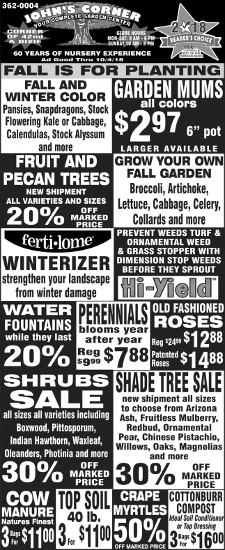 Your Complete Garden Center