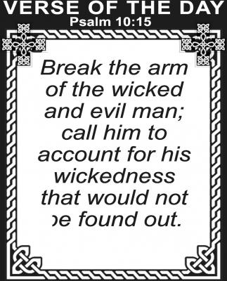 Psalm 10:15