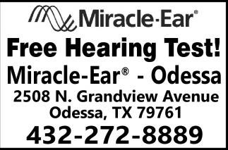 Free Hearing Test!