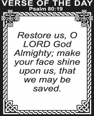Psalm 80:19