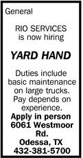 Yard Hand