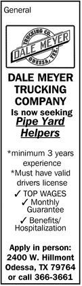 Pipe Yard Helpers