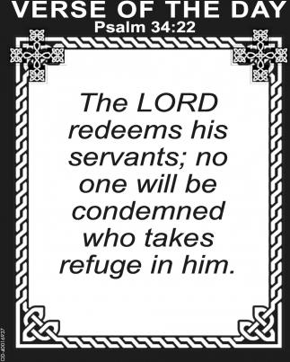 Psalm 34:22