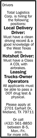 Local Delivery Driver