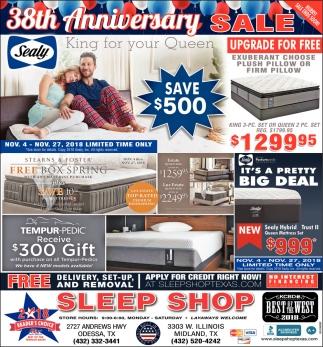 33th Anniversary Sale