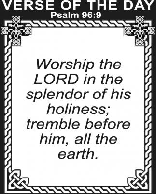 Psalm 96:9