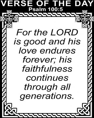 Psalm 100:5