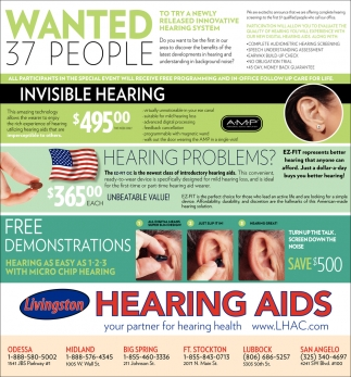 Invisible Hearing