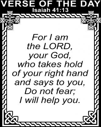 Isaiah 41:13