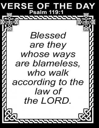Psalm 119:1